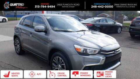 2019 Mitsubishi Outlander Sport for sale at Quattro Motors 2 - 1 in Redford MI