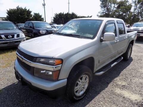 2010 Chevrolet Colorado for sale at PERUVIAN MOTORS SALES in Warrenton VA