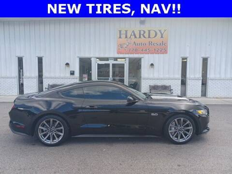 2016 Ford Mustang for sale at Hardy Auto Resales in Dallas GA
