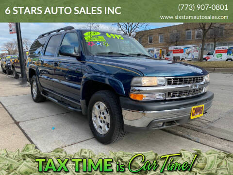 2005 Chevrolet Suburban for sale at 6 STARS AUTO SALES INC in Chicago IL