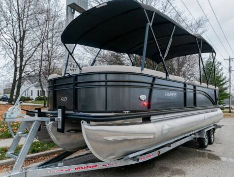 2018 Harris Tritoon Pontoon FlotBote Cruise 240 for sale at Waukeshas Best Used Cars in Waukesha WI