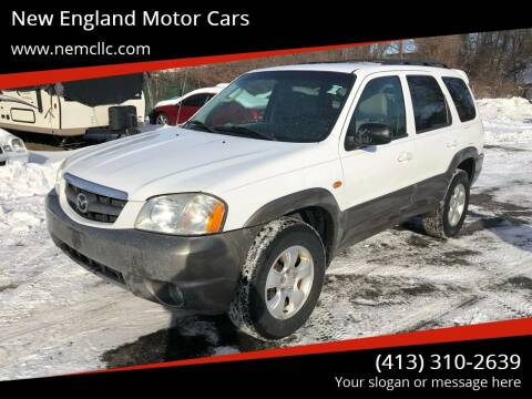 2004 Mazda Tribute for sale at New England Motor Cars in Springfield MA