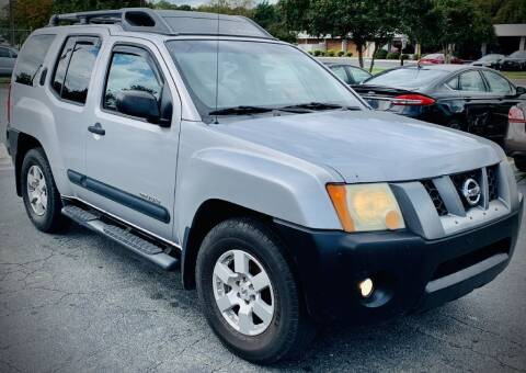 2006 Nissan Xterra for sale at RD Motors, Inc in Charlotte NC