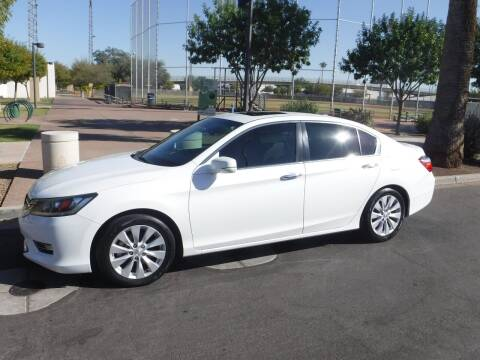 2013 Honda Accord for sale at J & E Auto Sales in Phoenix AZ
