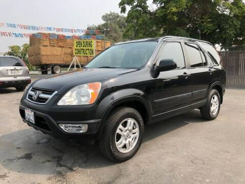 2002 Honda CR-V for sale at C J Auto Sales in Riverbank CA