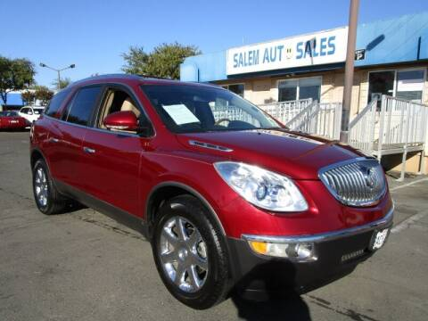 2010 Buick Enclave for sale at Salem Auto Sales in Sacramento CA
