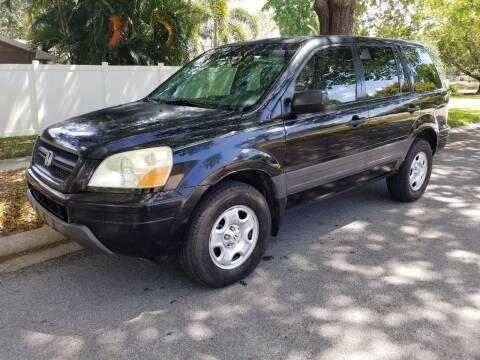 2005 Honda Pilot for sale at Low Price Auto Sales LLC in Palm Harbor FL