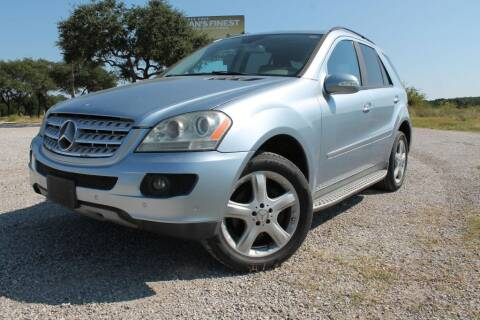 2007 Mercedes-Benz M-Class for sale at Elite Car Care & Sales in Spicewood TX