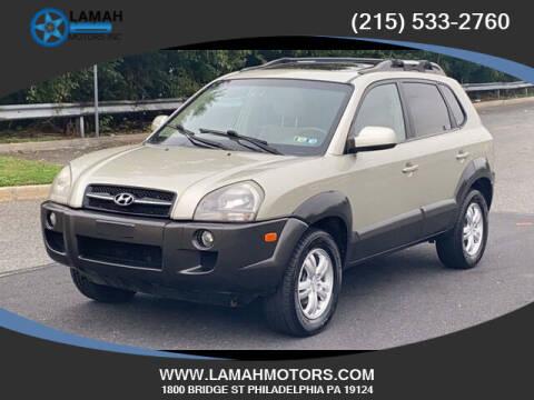 2007 Hyundai Tucson for sale at LAMAH MOTORS INC in Philadelphia PA