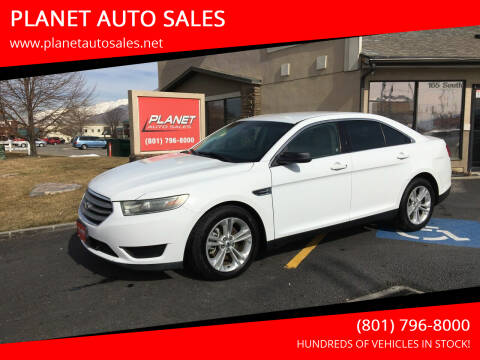 2015 Ford Taurus for sale at PLANET AUTO SALES in Lindon UT