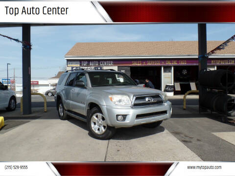 2008 Toyota 4Runner for sale at Top Auto Center in Quakertown PA