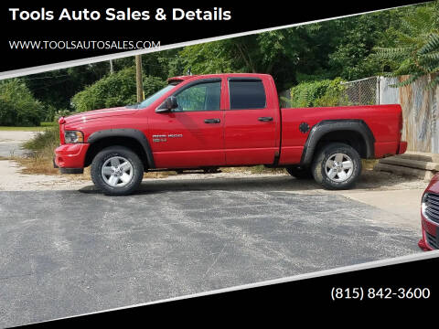 2003 Dodge Ram Pickup 1500 for sale at Tools Auto Sales & Details in Pontiac IL
