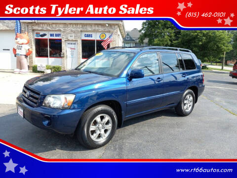 2005 Toyota Highlander for sale at Scotts Tyler Auto Sales in Wilmington IL