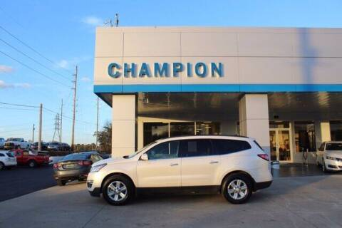 2014 Chevrolet Traverse for sale at Champion Chevrolet in Athens AL