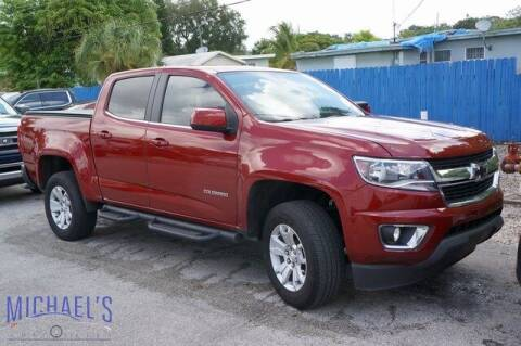 2018 Chevrolet Colorado for sale at Michael's Auto Sales Corp in Hollywood FL