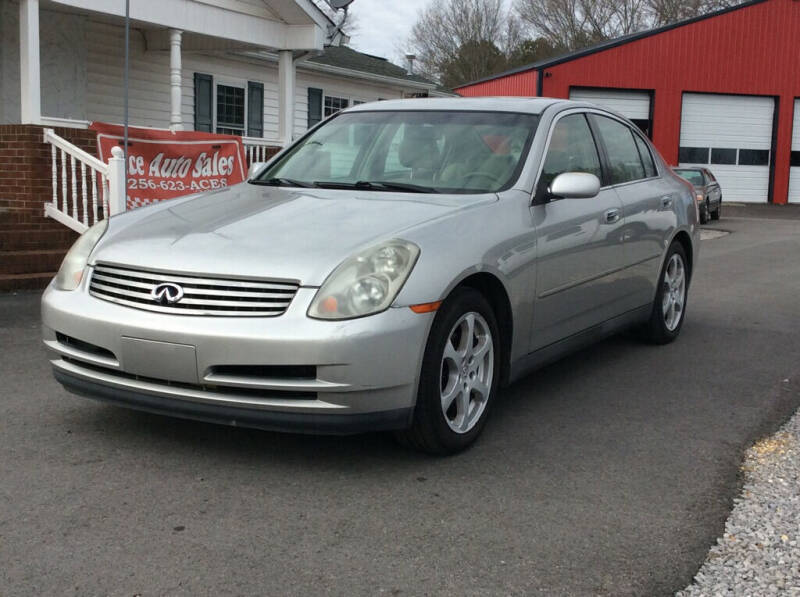 2003 Infiniti G35 for sale at Ace Auto Sales - Vehicles for Parts in Fyffe AL