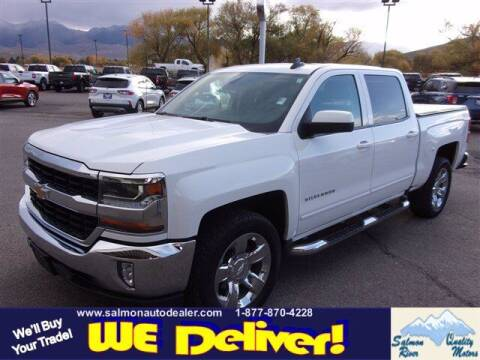 2018 Chevrolet Silverado 1500 for sale at QUALITY MOTORS in Salmon ID