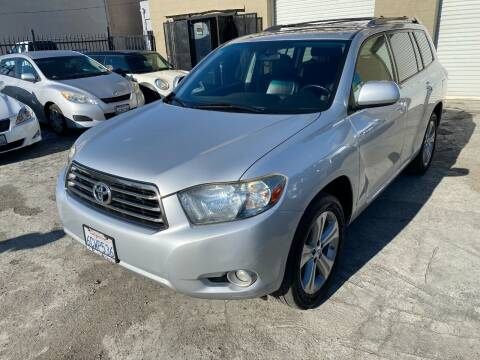 2008 Toyota Highlander for sale at 101 Auto Sales in Sacramento CA