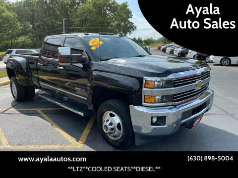 2015 Chevrolet Silverado 3500HD for sale at Ayala Auto Sales in Aurora IL