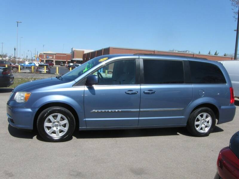 2012 Chrysler Town and Country for sale at MCQUISTON MOTORS in Wyandotte MI