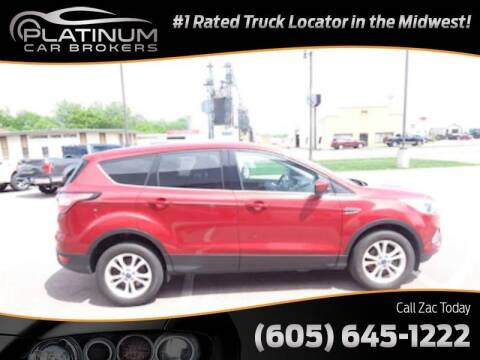 2017 Ford Escape for sale at Platinum Car Brokers in Spearfish SD