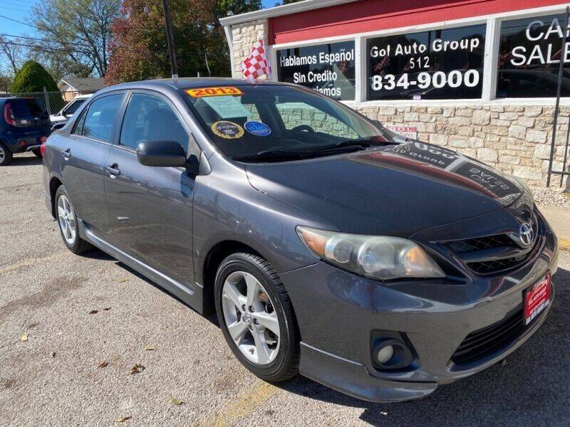 2013 Toyota Corolla for sale at GOL Auto Group in Austin TX