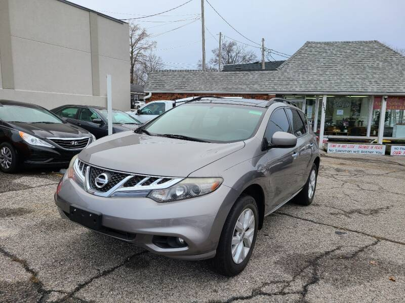 2012 Nissan Murano for sale at AA Auto Sales LLC in Columbia MO