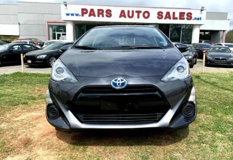 2015 Toyota Prius c for sale at Pars Auto Sales Inc in Stone Mountain GA
