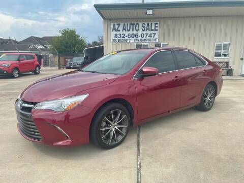 2015 Toyota Camry for sale at AZ Auto Sale in Houston TX