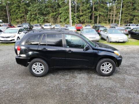 2002 Toyota RAV4 for sale at WILSON MOTORS in Spanaway WA