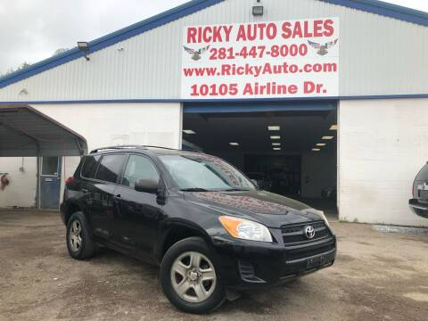 2012 Toyota RAV4 for sale at Ricky Auto Sales in Houston TX