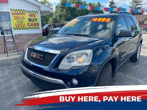 2008 GMC Acadia for sale at Excel Auto Sales LLC in Kawkawlin MI