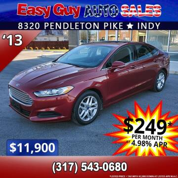 2013 Ford Fusion for sale at Easy Guy Auto Sales in Indianapolis IN
