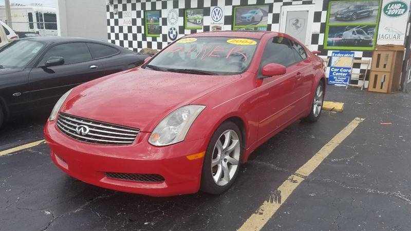 2004 Infiniti G35 for sale at AUTO CARE CENTER INC in Fort Pierce FL