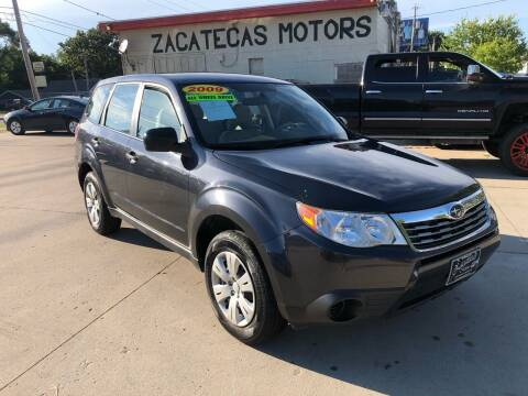 2009 Subaru Forester for sale at Zacatecas Motors Corp in Des Moines IA