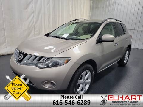 2009 Nissan Murano for sale at Elhart Automotive Campus in Holland MI