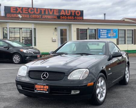 1999 Mercedes-Benz SLK for sale at Executive Auto in Winchester VA