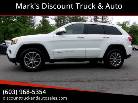 2015 Jeep Grand Cherokee for sale at Mark's Discount Truck & Auto in Londonderry NH