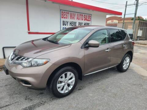 2011 Nissan Murano for sale at Best Way Auto Sales II in Houston TX