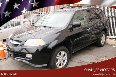 2004 Acura MDX for sale at Shah Jee Motors in Woodside NY