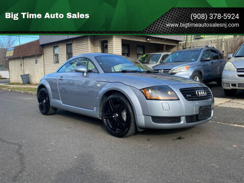 2002 Audi TT for sale at Big Time Auto Sales in Vauxhall NJ