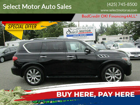 2011 Infiniti QX56 for sale at Select Motor Auto Sales in Lynnwood WA