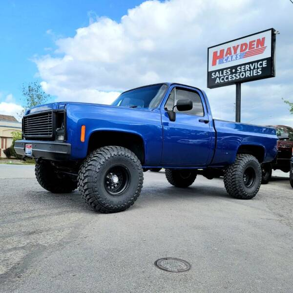 1979 Chevrolet C/K 10 Series for sale at Hayden Cars in Coeur D Alene ID