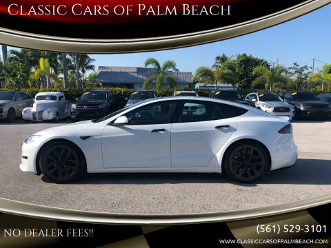 2021 Tesla Model S for sale at Classic Cars of Palm Beach in Jupiter FL
