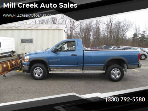 2006 Dodge Ram Pickup 2500 for sale at Mill Creek Auto Sales in Youngstown OH