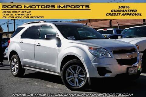 2015 Chevrolet Equinox for sale at Road Motors Imports in El Cajon CA