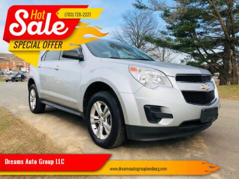 2011 Chevrolet Equinox for sale at Dreams Auto Sales LLC in Leesburg VA