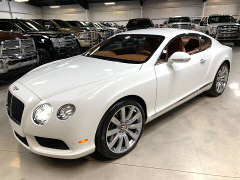 2013 Bentley Continental for sale at Diesel Of Houston in Houston TX
