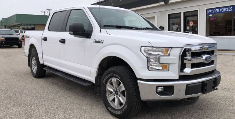 2016 Ford F-150 for sale at Perrys Certified Auto Exchange in Washington IN