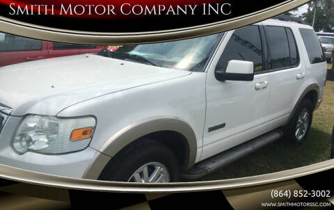 2008 Ford Explorer for sale at Smith Motor Company INC in Mc Cormick SC